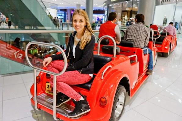 Andreea Ibacka Dubai Mall