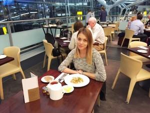 Andreea Ibacka - Gordon Ramsey Plane Food 11