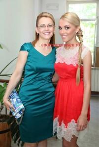 Andreea Ibacka si mama ei