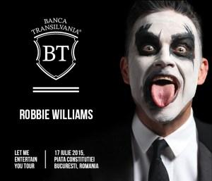 BT Partener Robbie Williams la Bucuresti