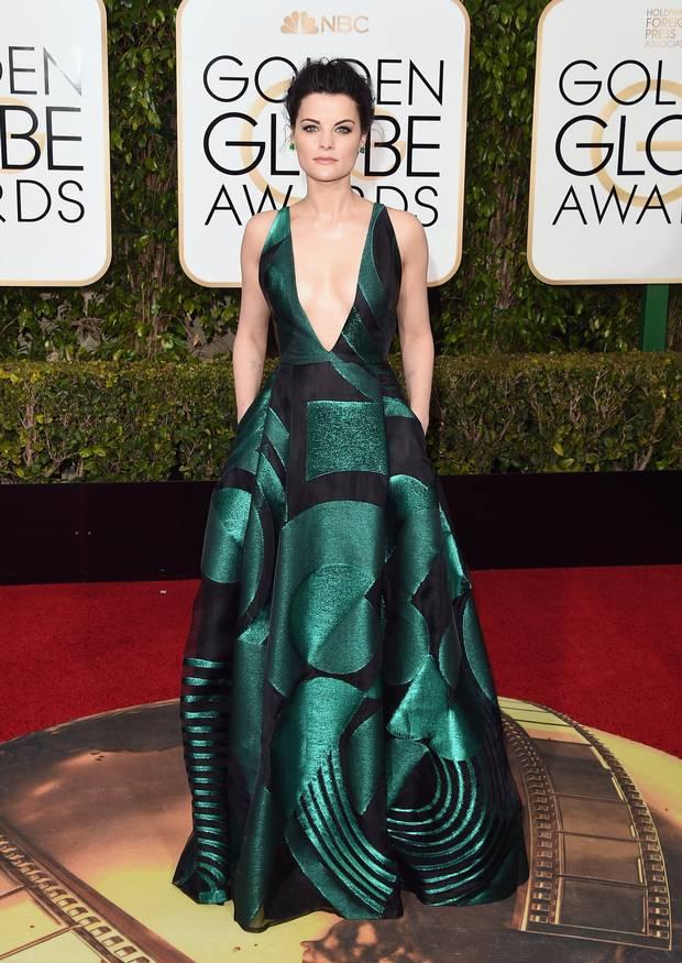 Golden Globes 2016 - Jaimie Alexander