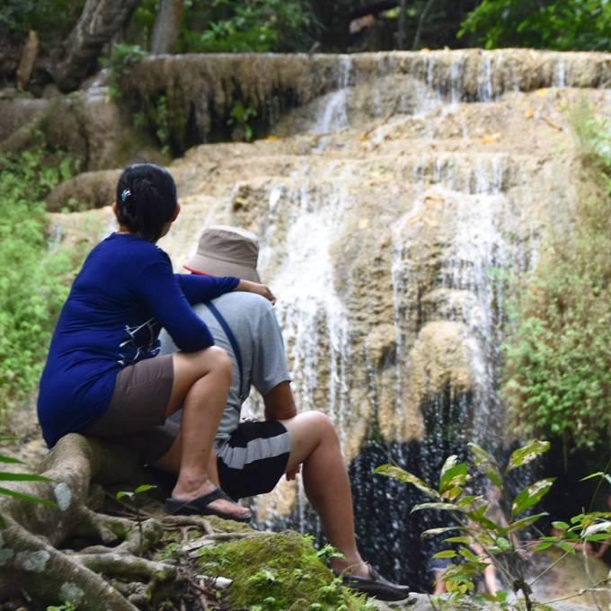 Kanchanaburi, Erawan Falls, Thailand, travel