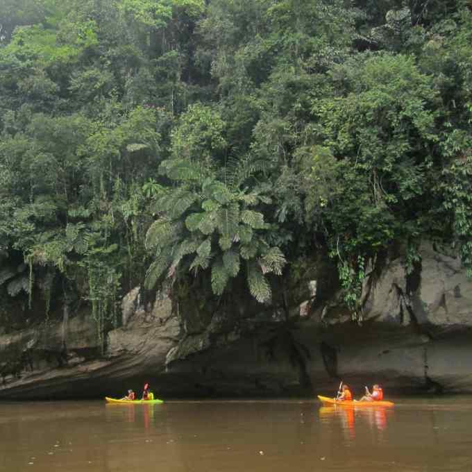 Bidayu, Kuching, Sarawak, Malaysia, Borneo, kayaking