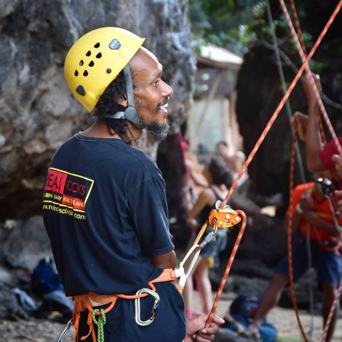 Railay, Krabi, Thailand, rock climbing, travel