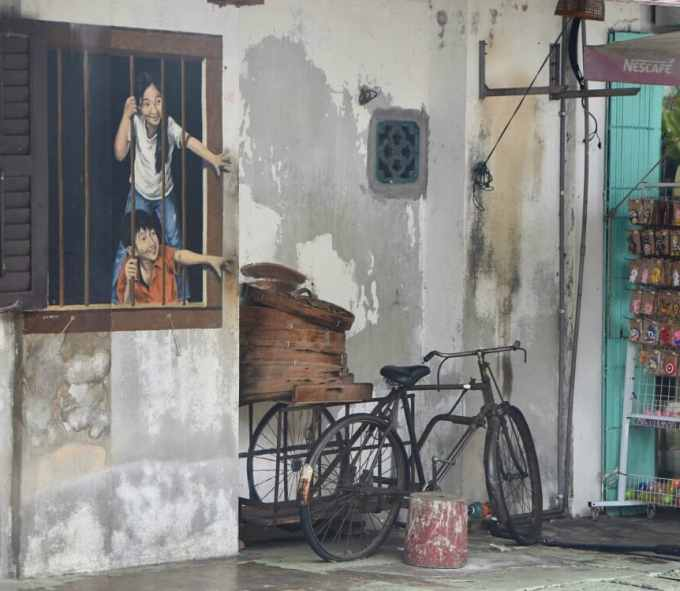 George Town, Penang, Malaysia, travel, street art