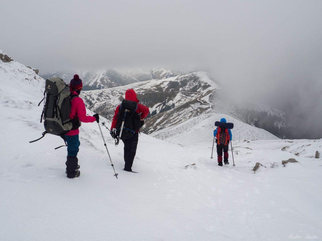 56 - Iarna în Bucegi, la Strunga