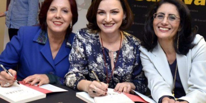 """Matéria sobre o Lançamento do Livro """"Mulher"""" no Rio de Janeiro"""