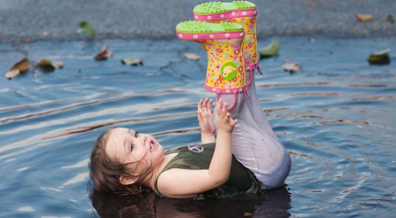 Photo of Copiii iubesc la nebunie băltoacele