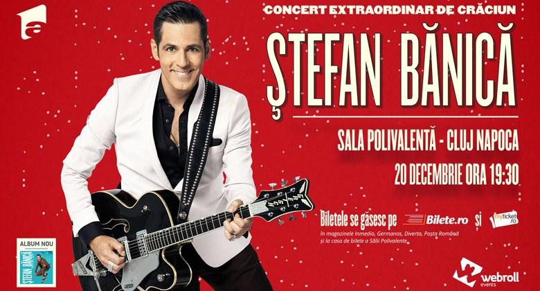 Photo of Vine Crăciunul: pe 20 decembrie cântă Ștefan Bănică în Cluj-Napoca