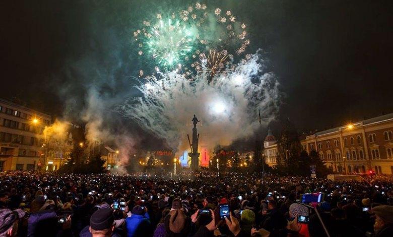 Photo of Revelion 2019: focuri de artificii Cluj vs București