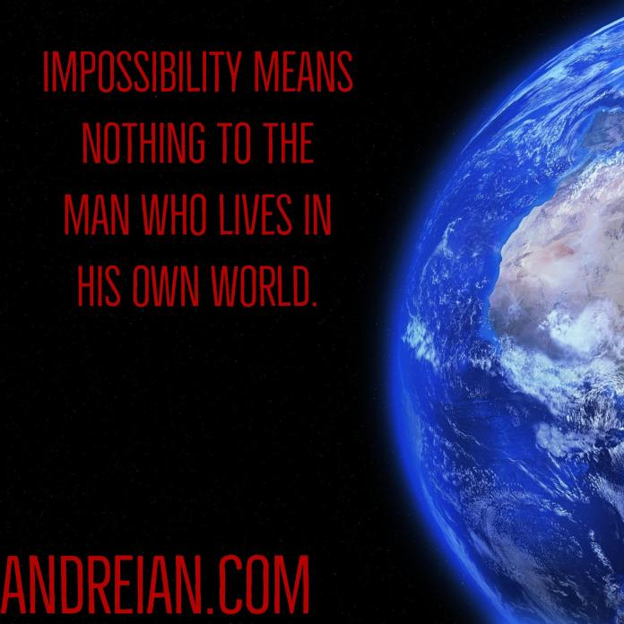 impossibility means nothing