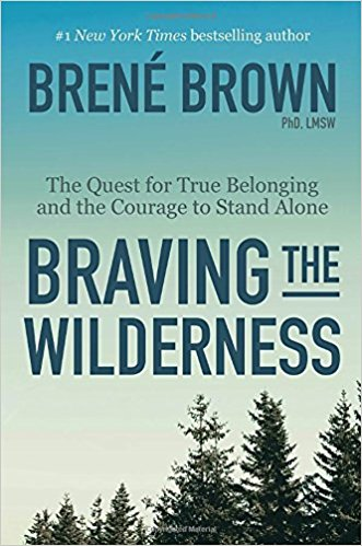 braving the wilderness brene brown 2017 best books