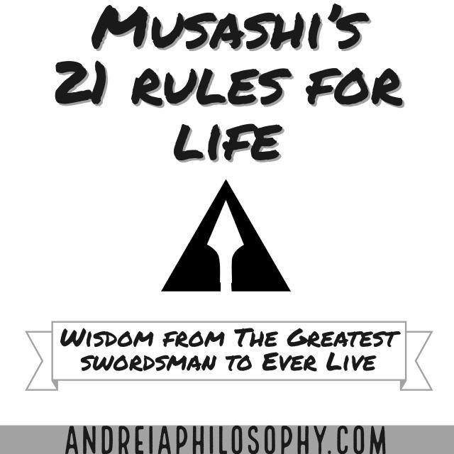 musashi 21 principles for life