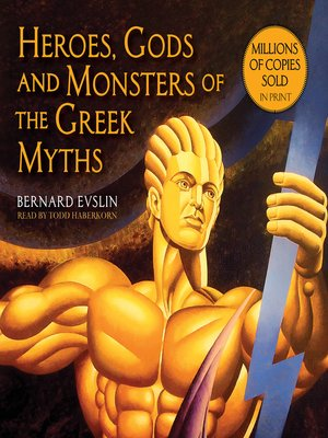gods myths and monsters best greek mythology books