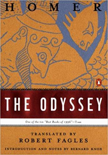 the odyssey - best greek mythology books