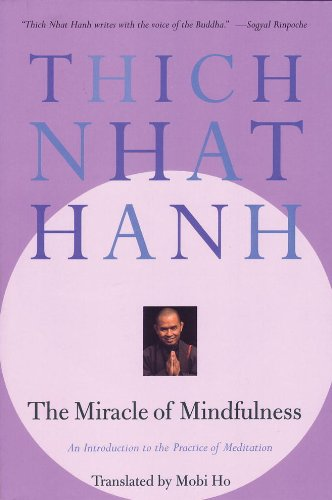 best books on meditation - the miracle of mindfulness