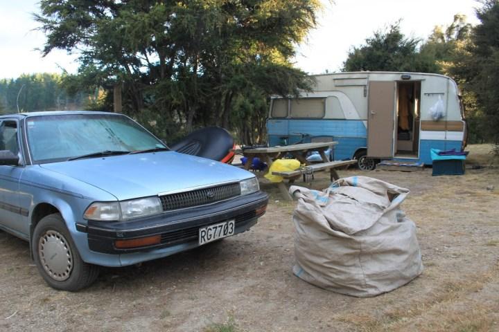 vivere in roulotte in nuova zelanda
