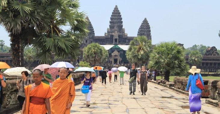 Monaci ad Angkor