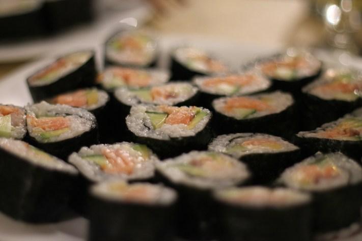 Sushi cu somon