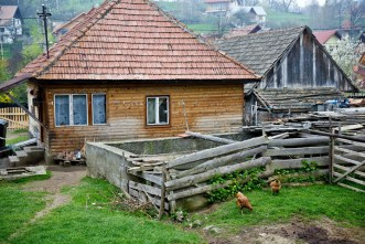rural house near Bran Castle in Romania
