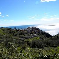 Drumetie in Cinque Terre.