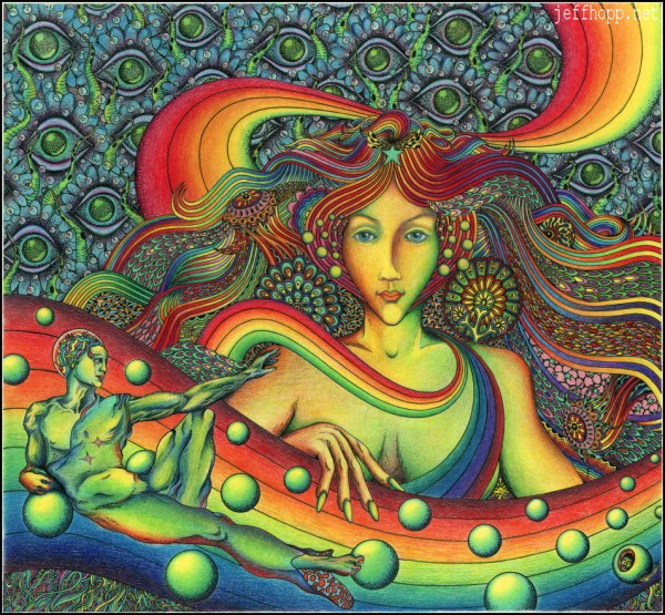 Psychedelic Drawings