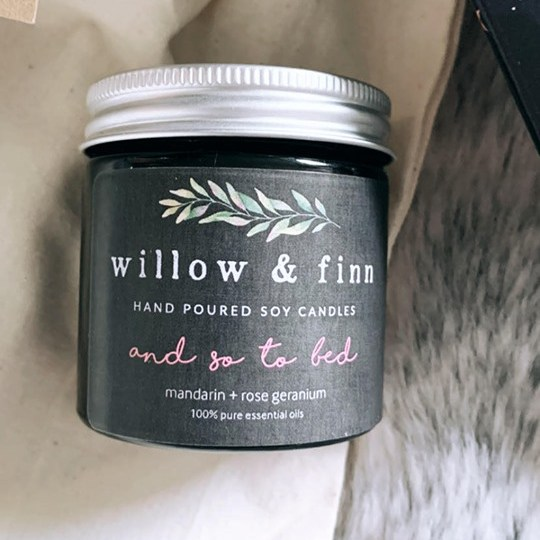 W&F candle