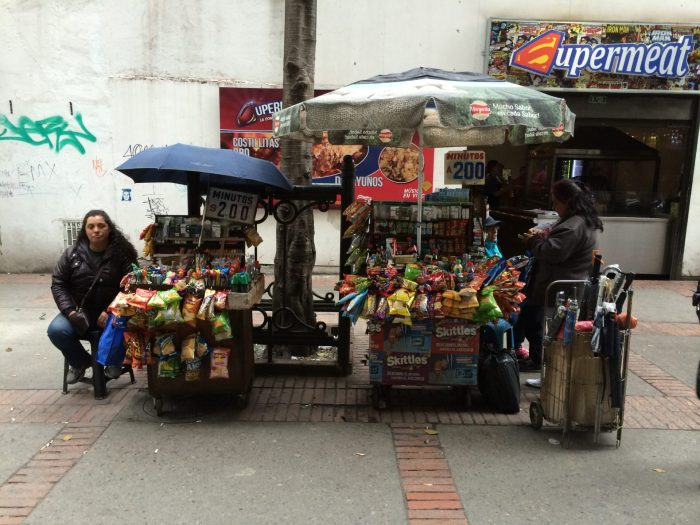 bogota street vendors and minutes