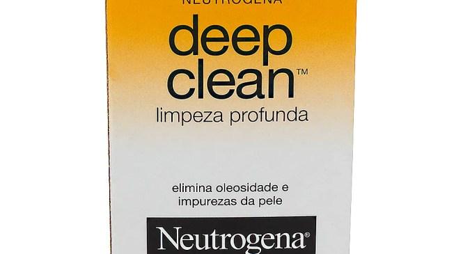 Sabonete em barra Deep Clean da Neutrogena