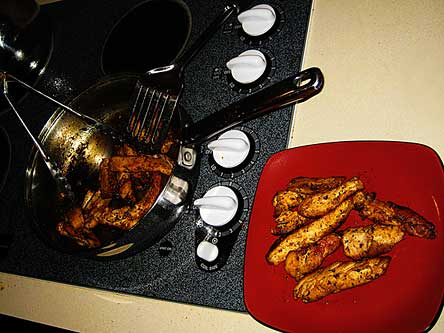 agave chicken strips