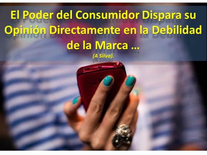 El Poder del Consumidor Dispara su Opinión Directamente en la Debilidad de la Marca ...