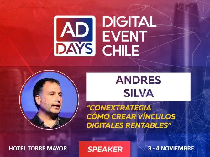 andres silva arancibia, speaker, marketing digital, conferencias, charlas, seminarios, addays