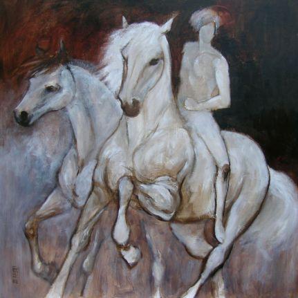 Cavaliere e cavalli
