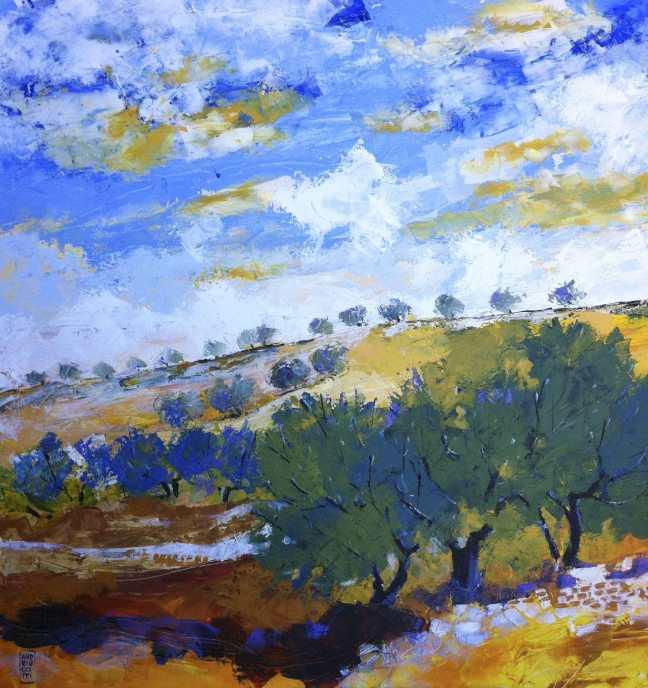la collina degli ulivi-min