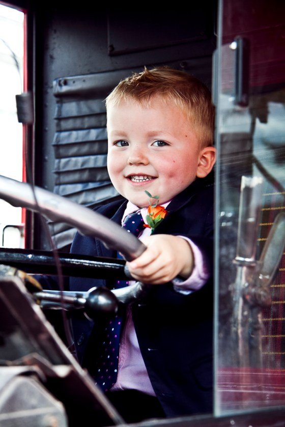 Kids at the wedding - The Bus driver
