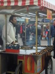 Castanyes. Istanbul. Turquia