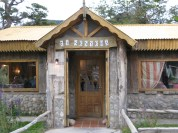 Fixeu-vos el nom del restaurant a El Chalten petit poble en mig de la Patagonia