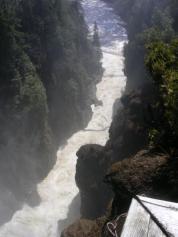 Panoràmica del cañón
