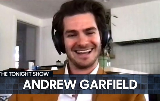 Andrew on 'The Tonight Show with Jimmy Fallon'