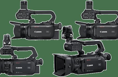 Камкодеры Canon XA55 XA50 XA45 XA40 4k - обложка статьи