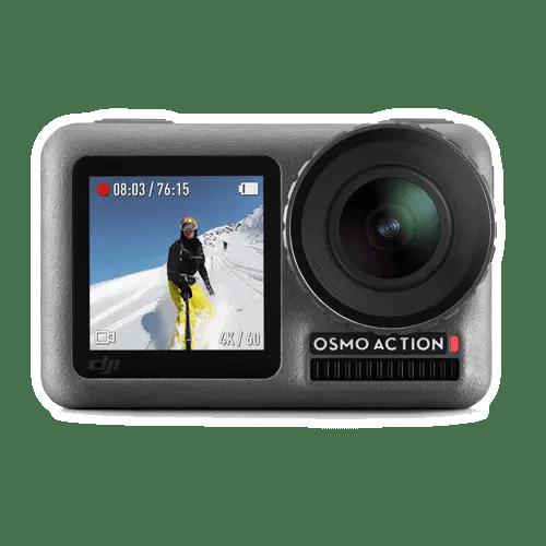 Экшн-камера DJI Osmo Action - вид спереди