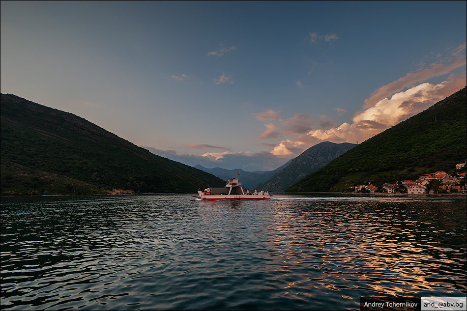 Bay of Kotor.