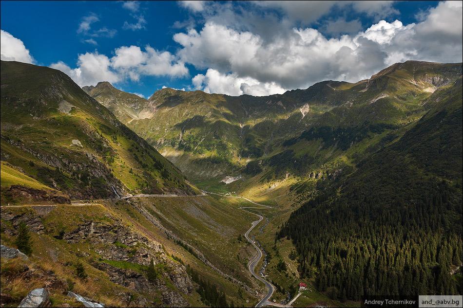 Romania. Transfăgărăşan.