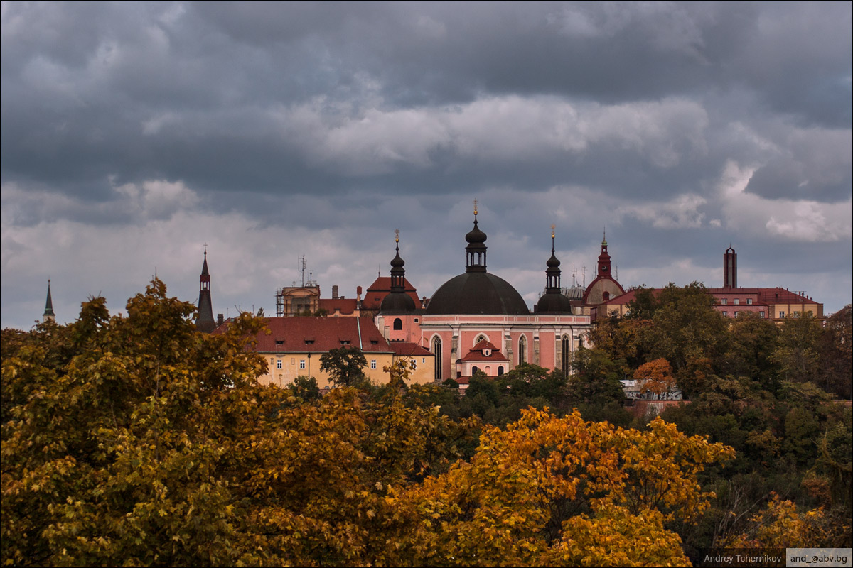 Prague. Autumn.