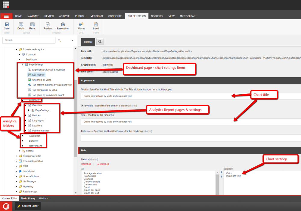 medium resolution of each report page has a pagesettings folder template sitecore client speak templates pages pagesettings that contains an item underneath it for every