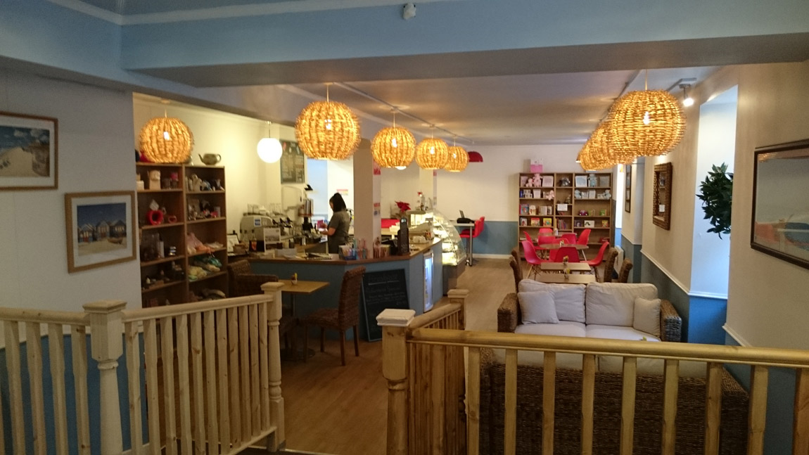 conversion of book shop to award winning cafe (3)
