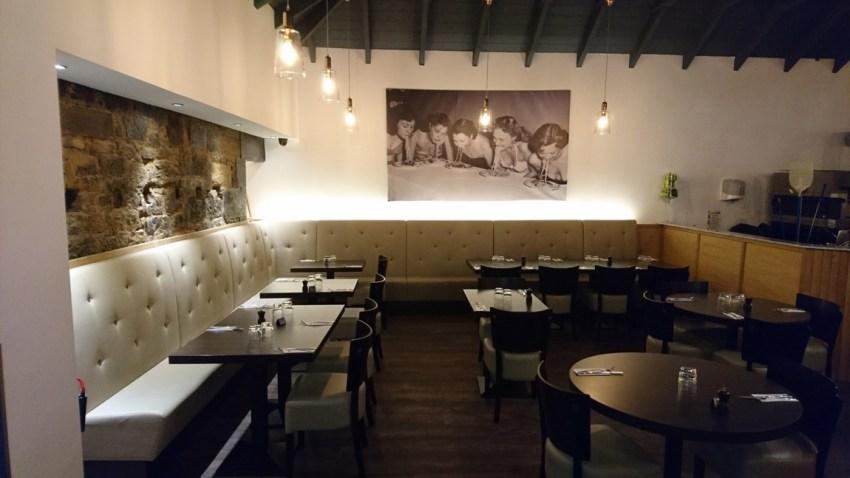 conversion of retail unit to award winning italian restaurant (2)