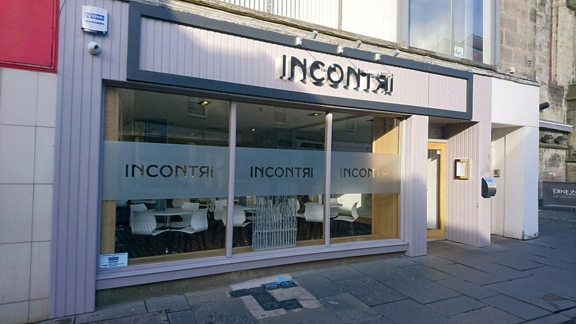 conversion of retail unit to award winning italian restaurant (8)