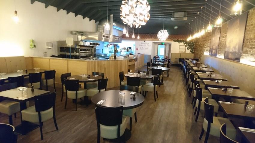 conversion of retail unit to award winning italian restaurant