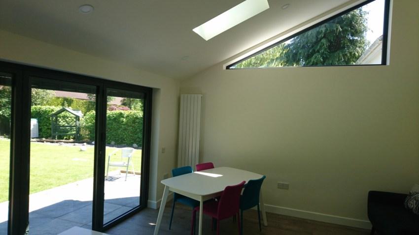 high level triangular window for maximum privacy